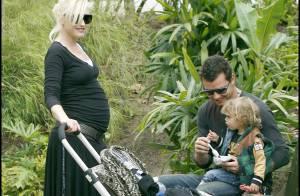 PHOTOS : Gwen Stefani sort ses deux hommes en attendant bébé...