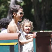 Halle Berry retombe en enfance avec sa chipie, Nahla