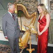 Le prince Charles en pince pour sa nouvelle jolie harpiste