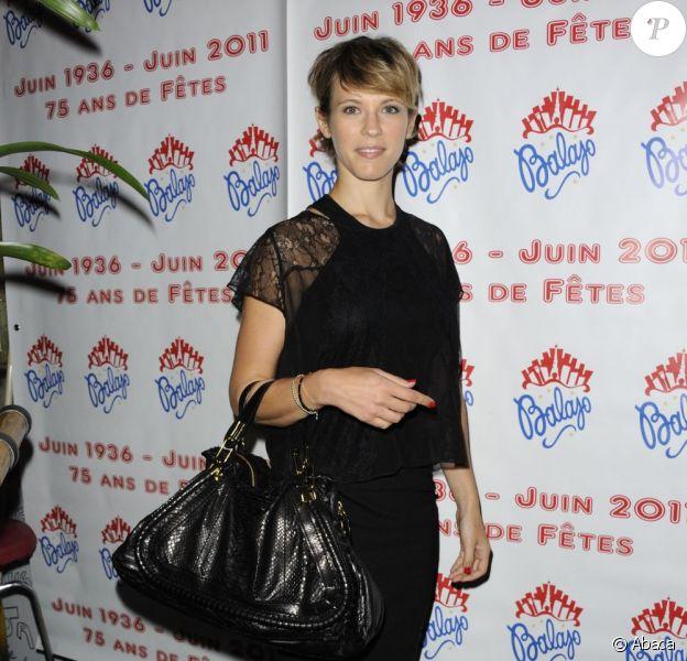 Lorie lors du 75e anniversaire de la célèbre boîte de nuit le Balajo à Paris le 27 juin 2011