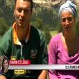 Karim et Leïla dans Pékin Express : la route des grands fauves diffusé le mercredi 29 juin 2011 à 20h45 sur M6