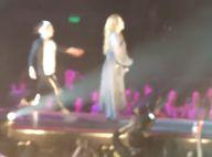 Miley Cyrus : une fan monte sur scène et effraye la jeune chanteuse