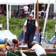 Le roi Harald V de Norvège a été victime d'une collision en mer lors d'une régate dans le nord de l'Allemagne le 29 juin 2011.