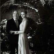 Mariage d'Albert de Monaco et Charlene : Les mariés ont choisi le noir et blanc