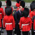 William à la cérémonie de bienvenue organisée en son honneur à l'hôtel de Ville de Québec, le 3 juillet 2011.
