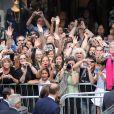 Cérémonie de bienvenue organisée en l'honneur de Kate et William à l'hôtel de Ville de Québec, le 3 juillet 2011.