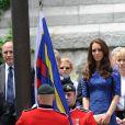 William et Kate à la cérémonie de bienvenue organisée en leur honneur à l'hôtel de Ville de Québec, le 3 juillet 2011.