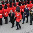 Cérémonie de bienvenue organisée en l'honneur de Will & Kate à l'hôtel de Ville de Québec, le 3 juillet 2011.