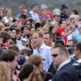 Bain de foule pour William et Kate à Lévis, au Canada. Le 3 juillet 2011
