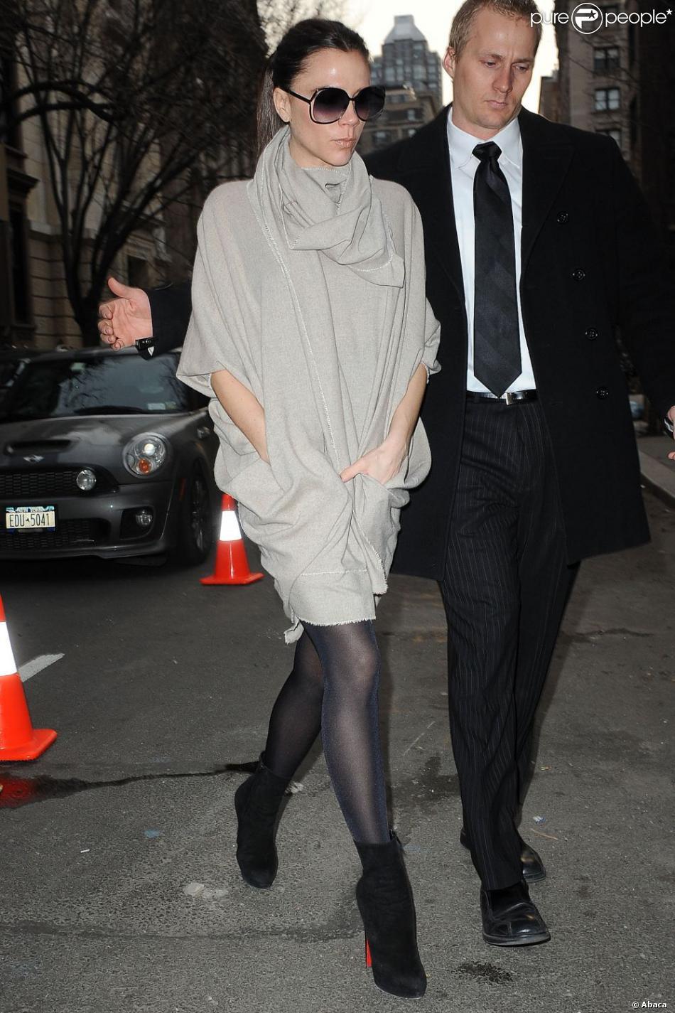 Victoria Beckham A Aujourd 39 Hui Trouv Son Style Chic Et