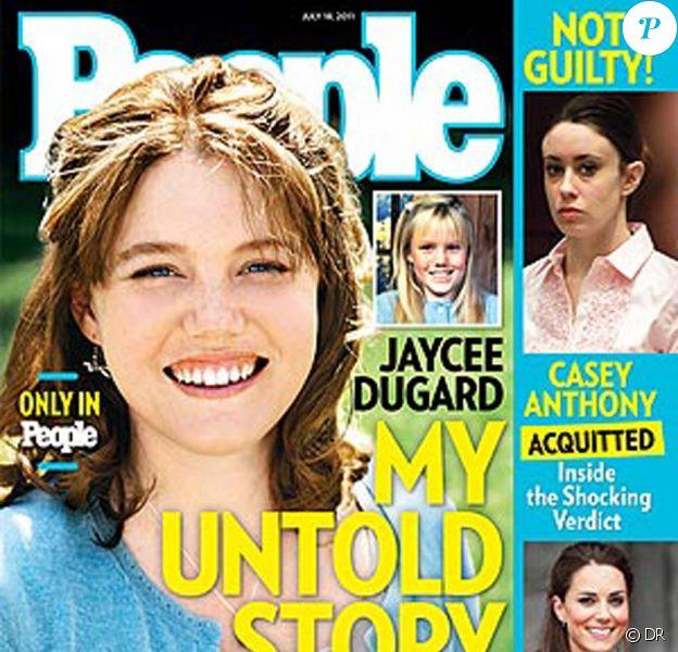 Jaycee Dugard en couverture de People, en juillet 2011.