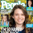 Jaycee Dugard en couverture de  People , en octobre 2009.