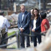 William et Kate au Canada : Intense émotion devant un paysage de désolation