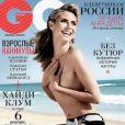 Heidi Klum en couverture du magazine GQ Russe