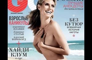 Heidi Klum : Fatale topless, elle brille aussi en super maman