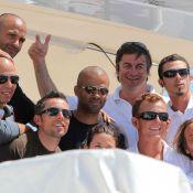 Tony Parker : Virée sous le soleil de St Tropez, avec les copains