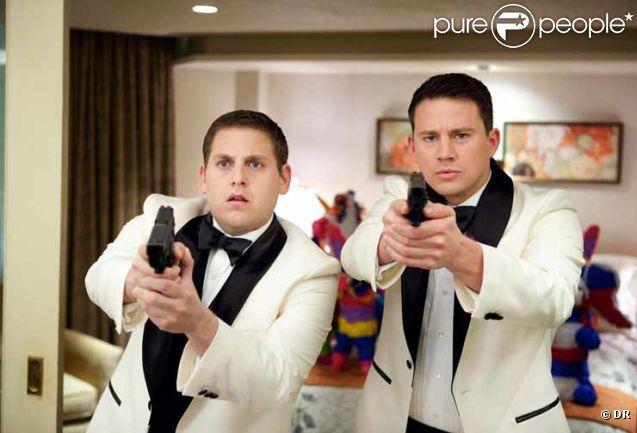 Jonah Hill et Channing Tatum dans la version cinéma de 21 Jump Street
