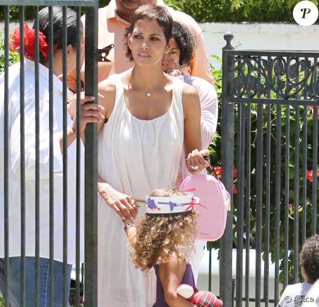 Halle Berry et Nahla en juillet 2011