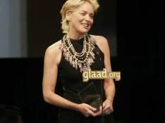 PHOTOS : Sharon Stone fait son show en l'honneur de la communauté gay