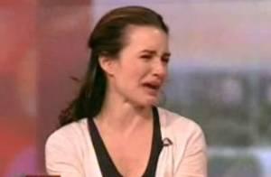 Kristin Davis, bouleversée, fond en larmes en plein show télé