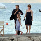 Christoph Waltz : Douces vacances en famille dans la baie de Naples