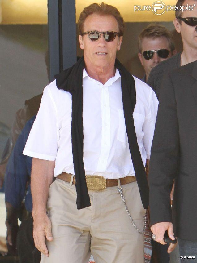 Arnold Schwarzenegger à Los Angeles le 15 juillet 2011