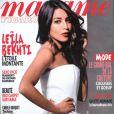Leïla Bekhti en couverture du magazine Madame Figaro, en kiosques le 29 juillet 2011