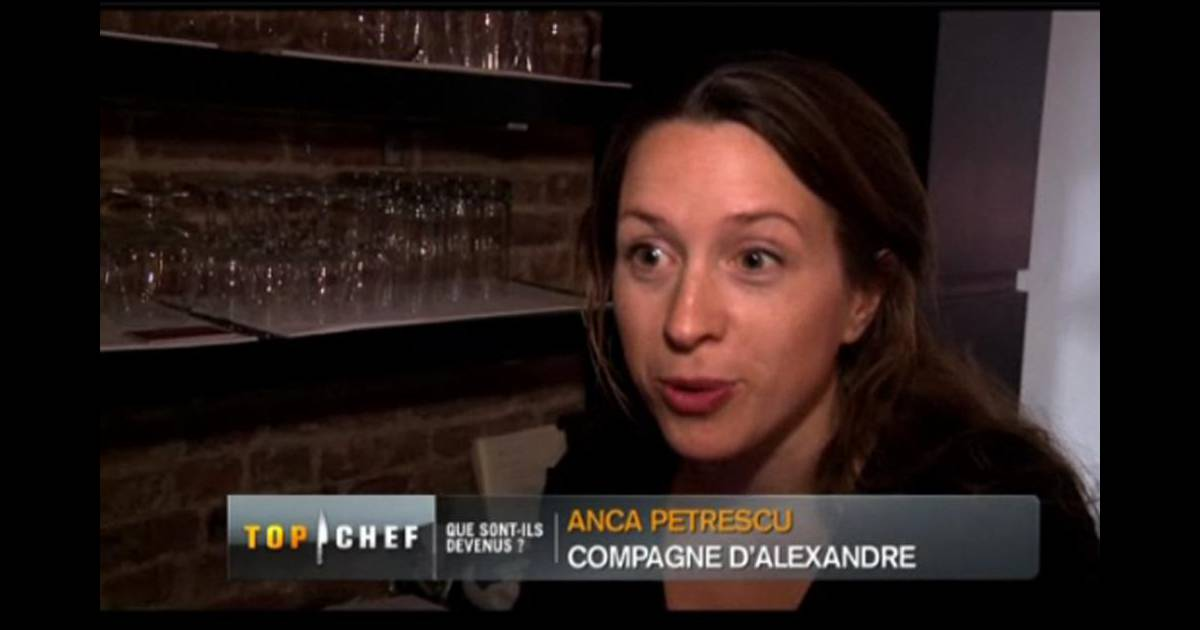 Anca la compagne d 39 alexandre dionisio de top chef for Autobiographie d un amour alexandre jardin