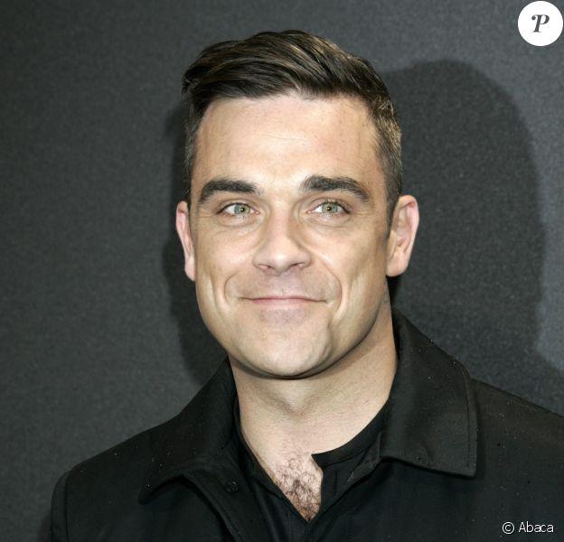Robbie Williams à l'avant-première de Cars 2 à Munich en Allemagne le 28 juillet 2011