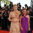 Cate Blanchett et la vice-présidente de Chopard,Caroline Gruosi-Scheufele