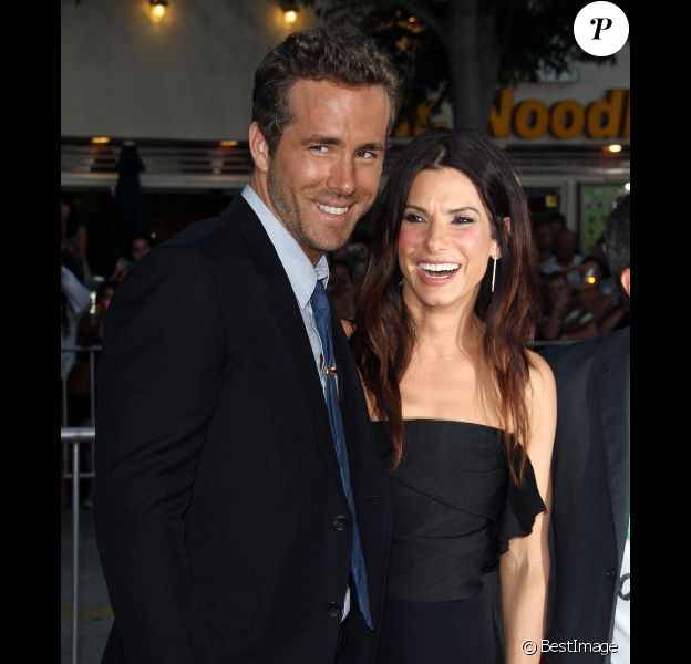 Ryan Reynolds et Sandra Bullock à l'avant-première de Change-Up à Los Angeles, le 1e août 2011