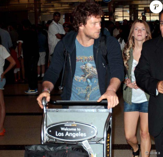 Sam Worthington, à Los Angeles, le 16 juillet 2011.