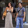 Sofia Vergara et son fils Manolo à New York, le 29 juillet 2010.