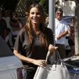 Sofia Vergara déjeune à Beverly Hills, le 2 août 2011.