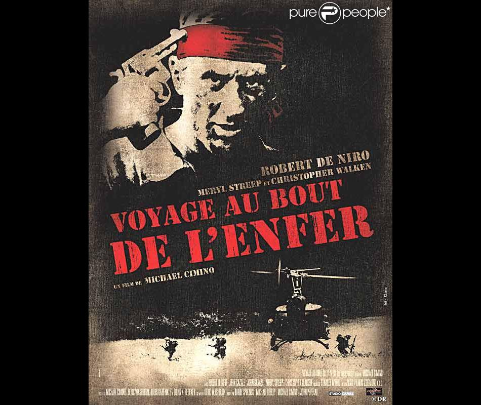affiche du film voyage au bout de l 39 enfer purepeople. Black Bedroom Furniture Sets. Home Design Ideas