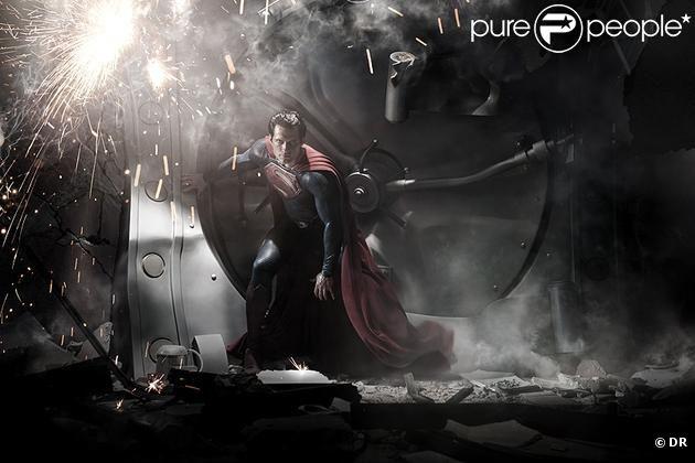 Henry Cavill dans la peau de Superman - Man of Steel