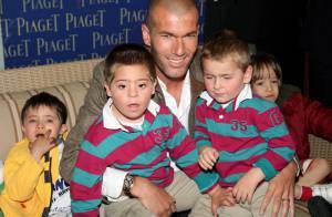 PHOTOS : Zinedine Zidane, tout pour le bonheur des enfants malades !