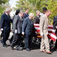 Obsèques de Tony Curtis à Las Vegas, le 4 octobre 2010.