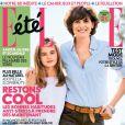 Couverture du magazine Elle avec Inès de la Fressange et sa fille Violette
