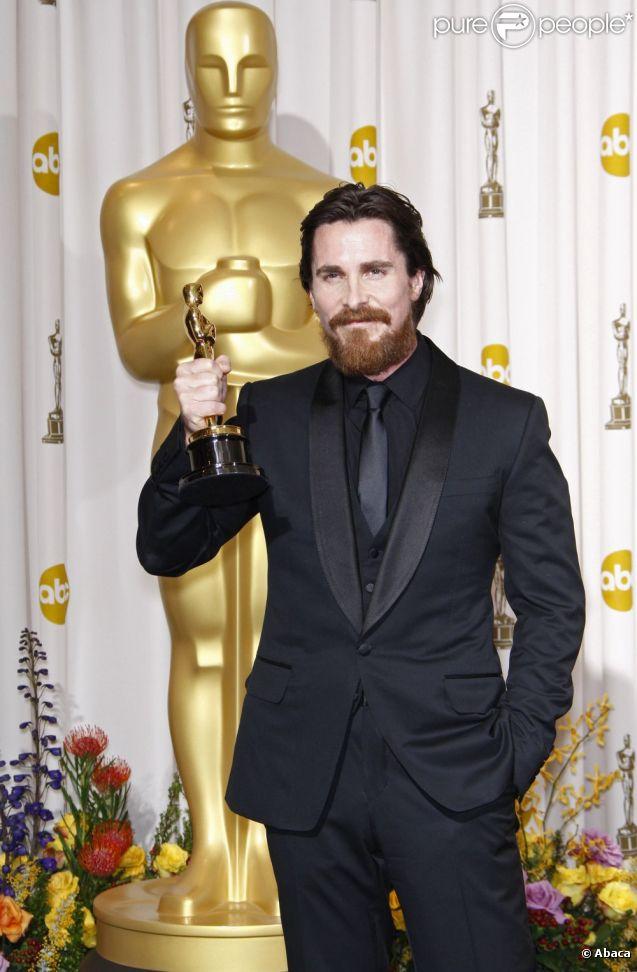 Christian Bale en fevrier 2011 à Los Angeles