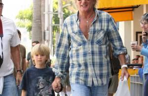 Rod Stewart : Le rockeur est un super papa-poule avec son adorable fils Alastair