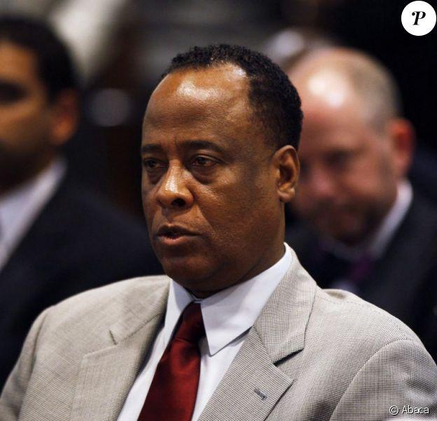 Le docteur Conrad Murray en février 2010 à Los Angeles