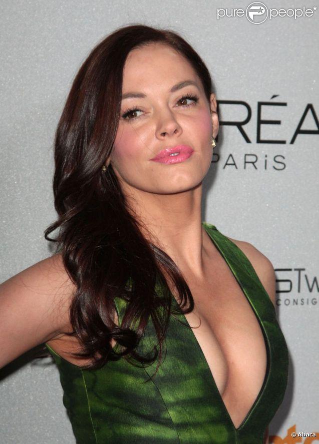 Rose McGowan en janvier 2011 à Los Angeles