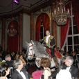 Mario Luraschi lors du 14e Grand Bal de Deauville organisé au profit de CARE France, le 27 août 2011