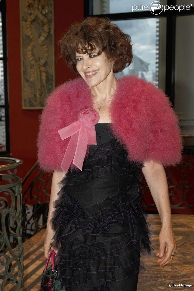 Fanny Ardant lors du 14e Grand Bal de Deauville organisé au profit de CARE France, le 27 août 2011