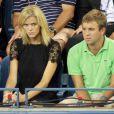 Brooklyn Decker, la sublime compagne d'Andy Roddick a assisté à la victoire de son homme lors du premier tour de l'US Open le 31 août 2011.