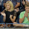 Les encouragements de sa femme Brooklyn Decker furent les bienvenus pour Andy Roddick lors de son entrée en lice lors de l'US Open 2011