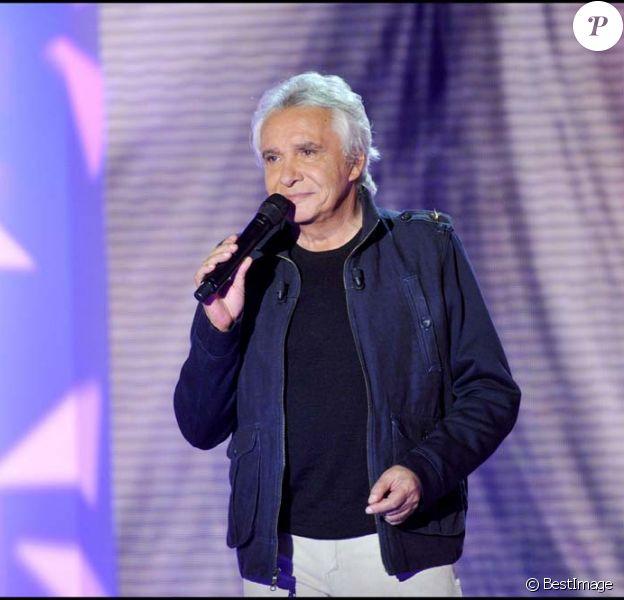 Michel Sardou, à Paris, le 8 septembre 2010.