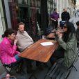 Sofia Essaïdi, Axel Kiener et Yamina Benguigui sur le tournage d'Aïcha : la grande débrouille, diffusé le 7 septembre à 20h35 sur France 2