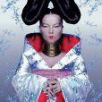 Björk shootée par Nick Knight pour l'album  Homogenic , en 1997.
